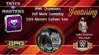 "WWE Champions Gameplay - Trickmasters Tour Luke Gallows ""The Club"""
