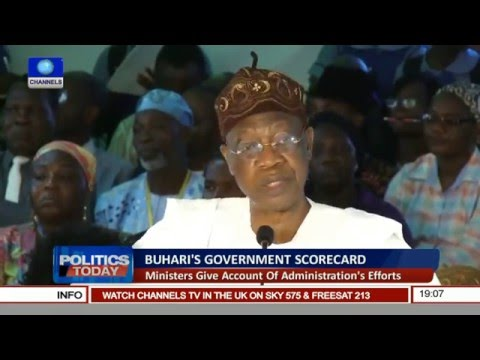 Politics Today: Assessing Efforts Of Accountability In Buhari's Govt Pt 1