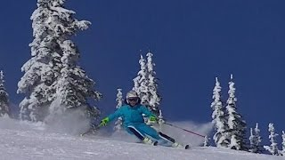Race training session - Big White Ski Resort 2015