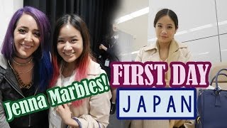 First Day in JAPAN | Jenna Marbles in Japan!
