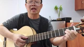 Hướng dẫn intro, lead và đệm guitar bài.  CÁT BỤI CUỘC ĐỜI.  Hà Sơn