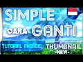 Cara Simple Ganti Thumbnail / Cover Video Youtube Di Android ( NEW ) | Tutorial Android #90