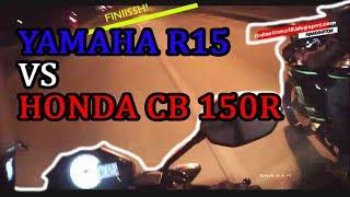 Yamaha R15 VS Honda CB 150r