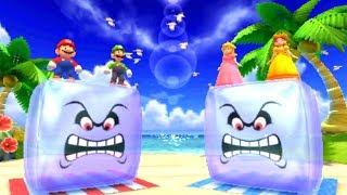 Mario Party The Top 100 Minigames - Mario & Luigi Vs. Peach & Daisy