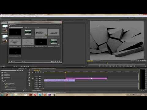 Хэнкок эффект разбивание раскол поверхности в Adobe Premiere Pro CC Урок