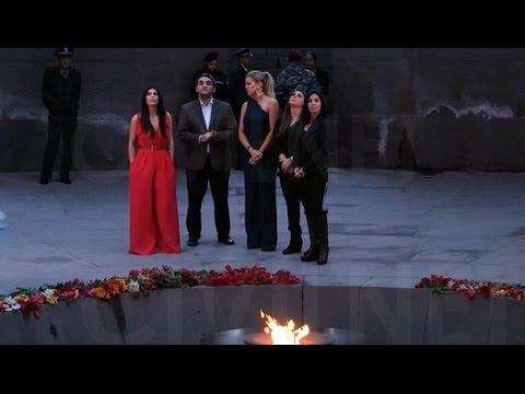 Քարդաշյանների այցը Ծիծեռնակաբերդ | Kardashians Visit Genocide Memorial