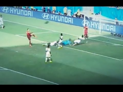 Cristiano Ronaldo First Goal Portugal vs Ghana 2/1 (WorldCup2014)