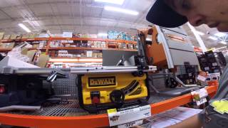 WORKING AT THE HOME DEPOT!!!