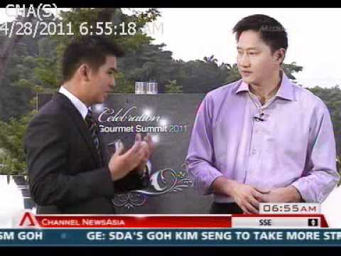 Channel Newsasia coverage of World Gourmet Summit 2011 Part 1