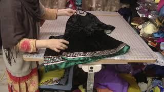 simple and elegant designs in velvet