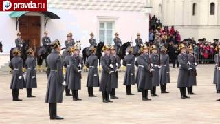 Horse Guards parade in Kremlin