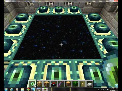 how to make end portal in minecraft pe 12.1