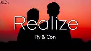 Realize - Ry & Con Acoustic Cover (Lyrics)