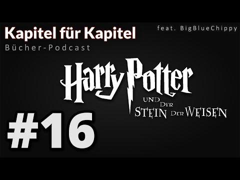 """Bücher-Podcast """"Kapitel für Kapitel"""" - Harry Potter und der Stein der Weisen # 16"""