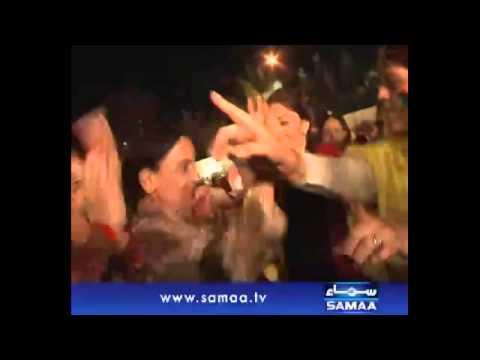 Pakistani Politician Sharmila Farooqi Live Mujra in PPP's Chairman JALSA - 17 OCT