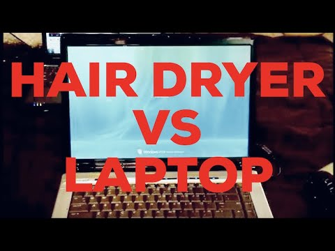HP DV6000 No Video Fix Using Hair Dryer