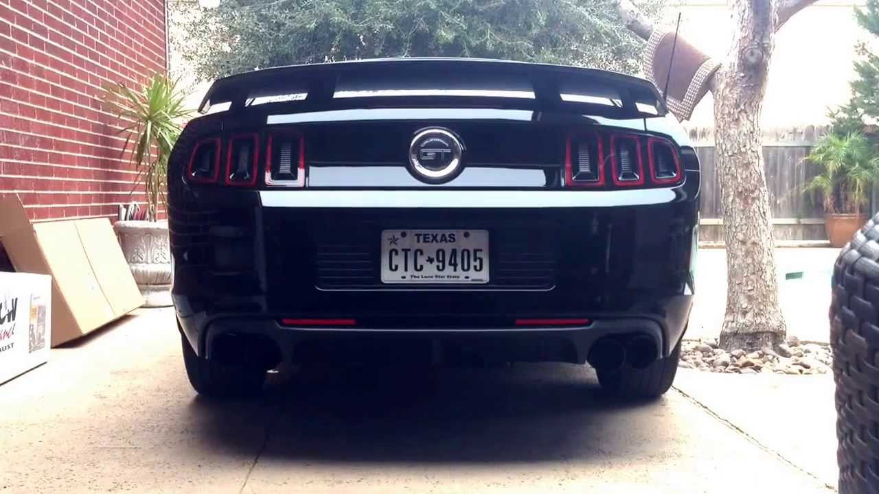 Magnaflow Competition Quad Exhaust 2014 Mustang Gt Cs