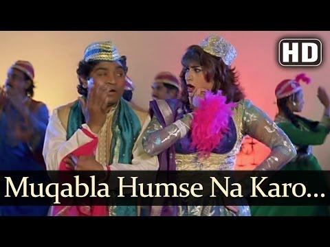Muqabla Humse Na Karo (HD) - Ganga Ki Kasam Songs - Mithun -...