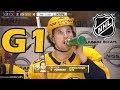 Colorado Avalanche vs Nashville Predators. 2018 NHL Playoffs. Round 1. Game 1. 04.12.2018. (HD) MP3