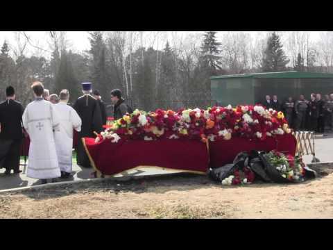 Погост в Переделкино в день похорон Евгения Евтушенко
