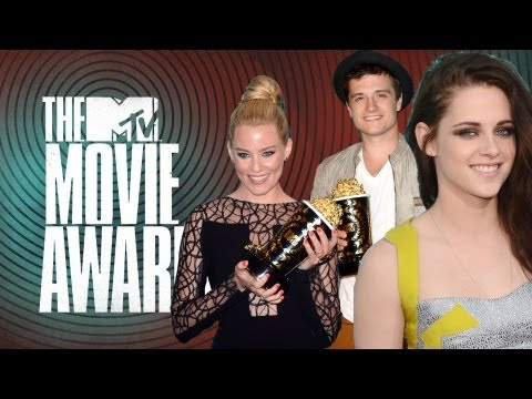 Ganadores MTV Movie Awards 2012-Twilight, Hunger Games, Harry Potter y Mas!