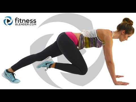 At Home Cardio Workout With No Equipment - Fat Burning Cardio Intervals video