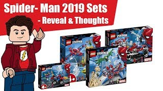 LEGO 2019 Spider-Man Sets Reveal & Thoughts