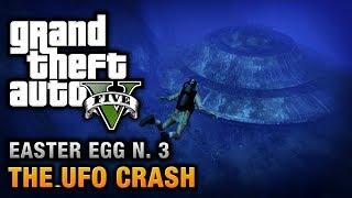 GTA 5 - Easter Egg #3 - The UFO Crash