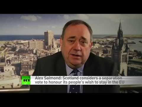 Scotland already preparing for new independence vote - Alex Salmond (RT EXCLUSIVE)