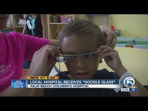 Local hospital receives 'Google Glass'