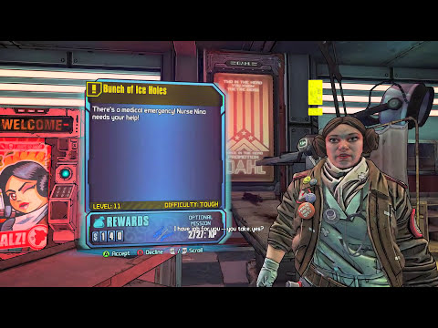 Borderlands: The Pre-Sequel Walkthrough Part 9 - All the Little Creatures (PC 1080p Gameplay)