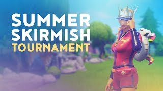 $250,000 OFFICIAL FORTNITE SUMMER SKIRMISH TOURNAMENT - MOST ELIMINATIONS (Fortnite Battle Royale)