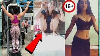 18+ Very hot Musically girls👌hot girls try not to laugh/Musically India,tik tok videos