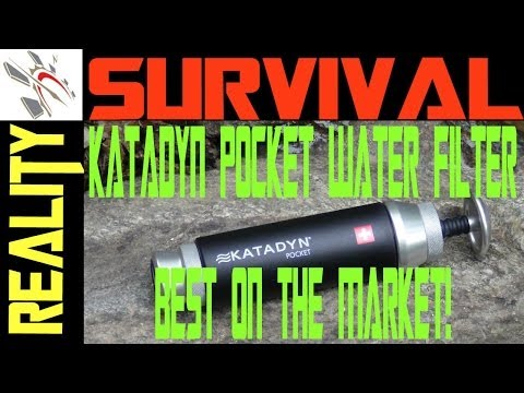 The Best Water Filter. Period! Katadyn Pocket Ceramic Water Filter