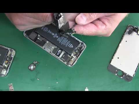 Замена задней камеры на iPhone 5S в Москве на дому