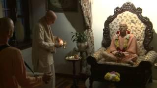 2012.11.06. Deity Greeting, Guru Puja HG SDA ISKCON Kaunas Lithuania
