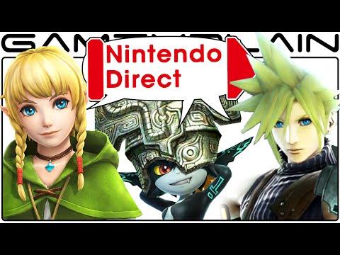 Nintendo Direct Discussion: Cloud in Smash Bros, Linkle, Twilight Princess HD, Zelda Wii U, etc
