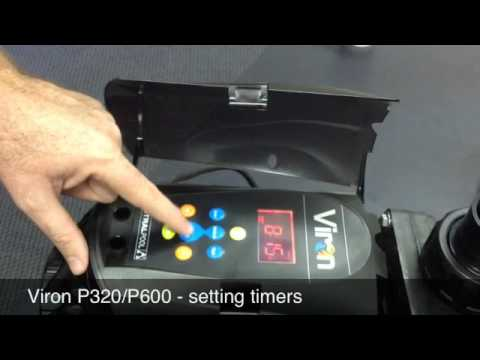 P320/P600 - Setting Timers