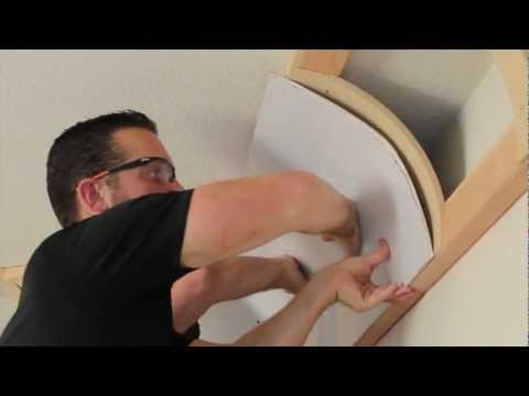 Universal Cove Ceiling Kit: How to install and drywall