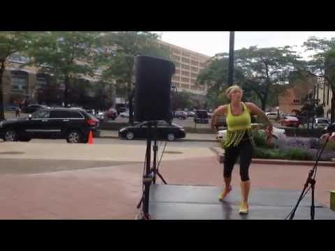 Workout Wednesday (June 25) with Zumba Stephanie