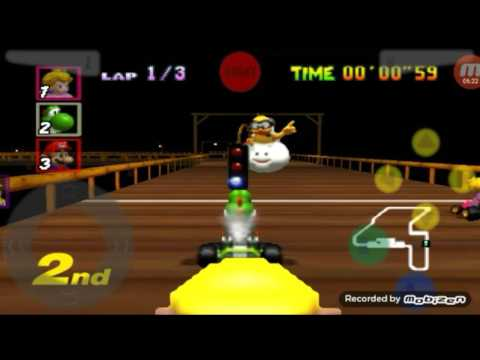 Si te acercas....Mueres!!!/ Mario Kart 64 (leer descripción :v)