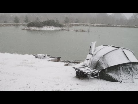 CARPING MIRACLES hawkswood march 2013 winter carp fishing