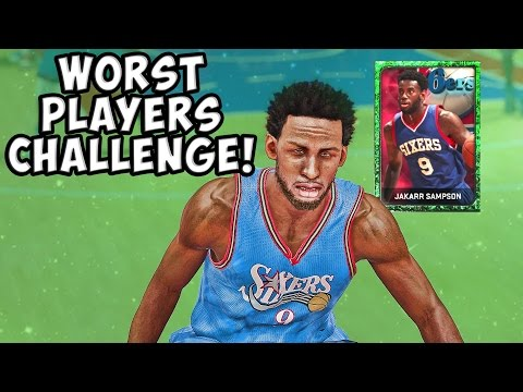 Worst Players in the Game Challenge! - NBA 2K15 MyTeam - Ed Nealy and Jakarr Sampson