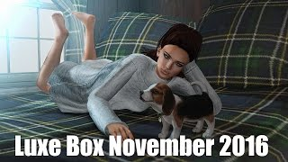 Luxe Box - November 2016 - Unboxing Video - Second Life Subscription Box