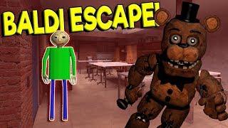 BALDI'S BASICS SCHOOL ESCAPE SURVIVAL! - Garry's Mod Survival Gameplay - Gmod Baldi's Basics