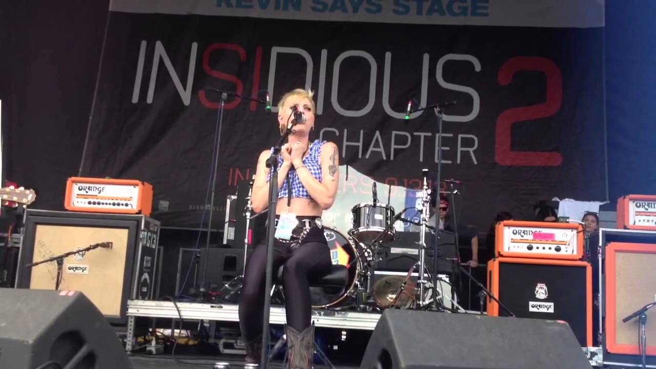 Simms Warped Juliet Simms Warped Tour 2013