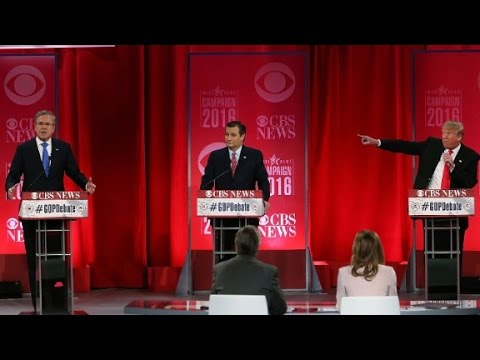 Trump hits Cruz for 'lying' and Bush for '...