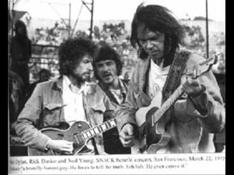 Neil Young and Bob Dylan - Helpless + Knockin' on Heaven's Door 1975 Music Videos