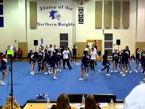 Notre Dame High School, Lawrenceville, NJ Cheer Competition Routine 2010