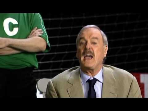 John Cleese rants - Soccer vs Football Video